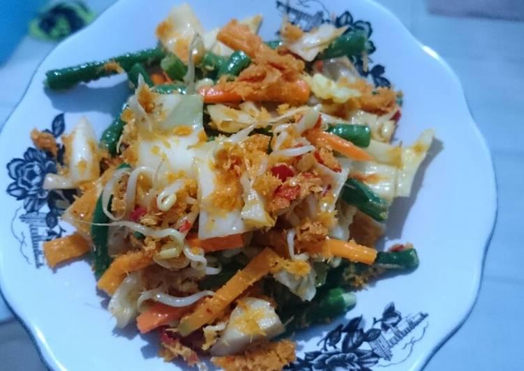 Resep memasak Urap sayuran/gudangan 'simple' yang menggugah selera