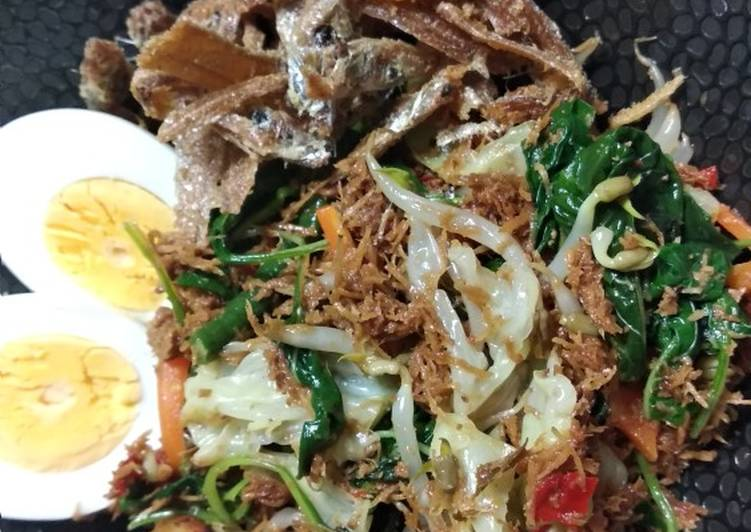 Resep mengolah Gudangan (urap sayur matang) istimewa