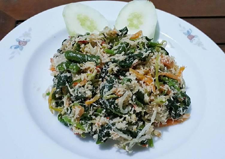 Resep: Urap sayur/Gudangan
