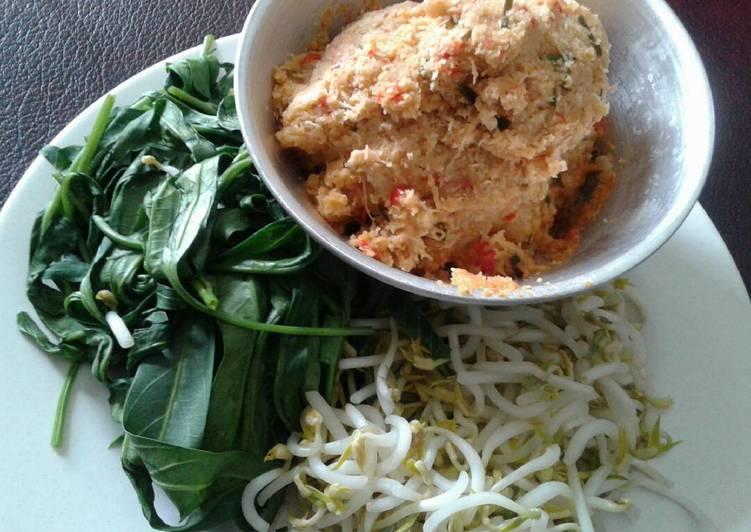 Resep memasak Urap sayur (gudangan)