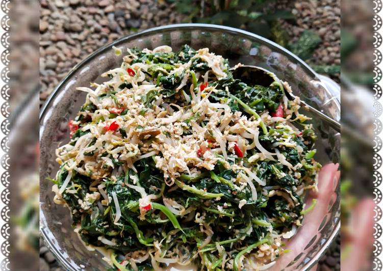 Resep: Urap sayur (kluban) SIMPEL