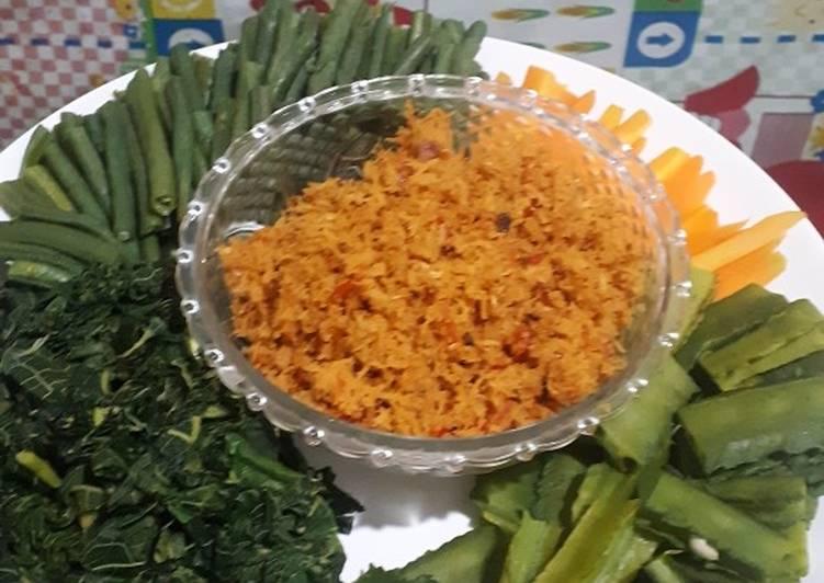 Resep: Urap sayur/kluban istimewa