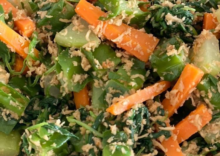 Resep: Urap sayur/ kluban