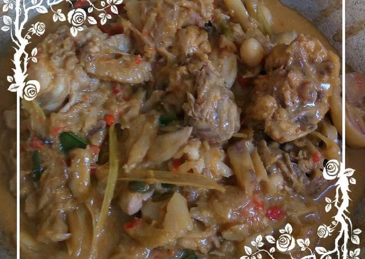 Resep: Sayur Nangka aka Gudeg kw citarasa Sunda lezat
