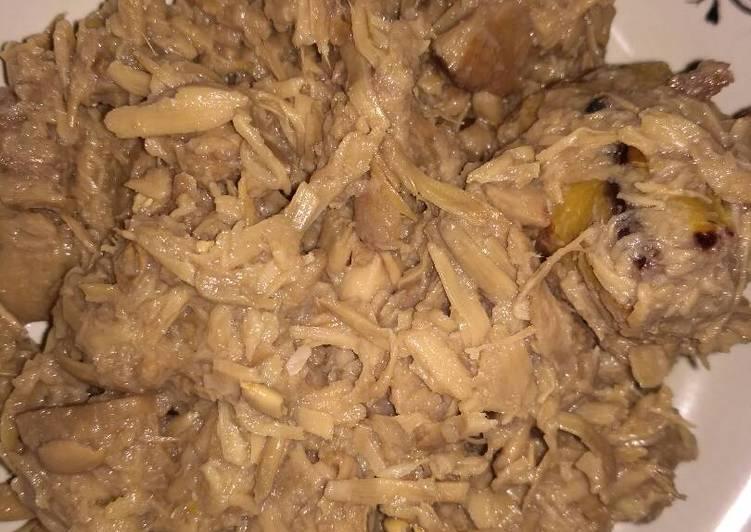 Resep: Sayur gori (nangka muda) /tewel/gudeg
