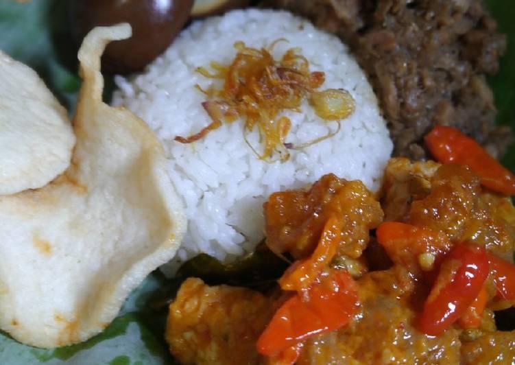 Resep memasak Gudeg kuali yang menggugah selera