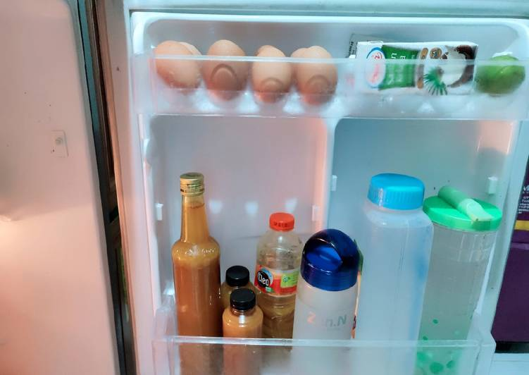 Resep: Jamu kunyit asam jahe home made (murni,bukan dari serbuk instan) lezat