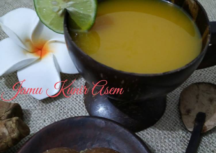 Resep memasak Jamu Kunir Asem (Kunyit Asam) 23.12.2019 ala resto