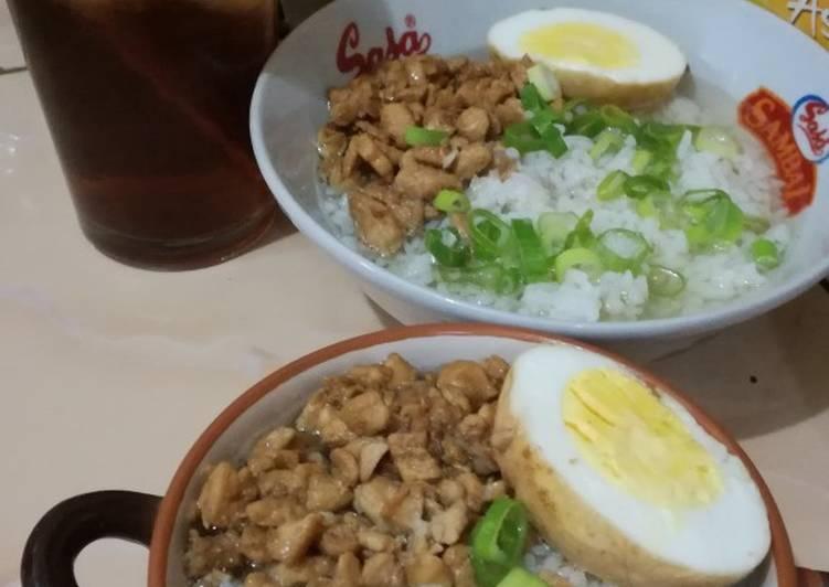 Resep: Nasi bakmoy ayam yang bikin ketagihan