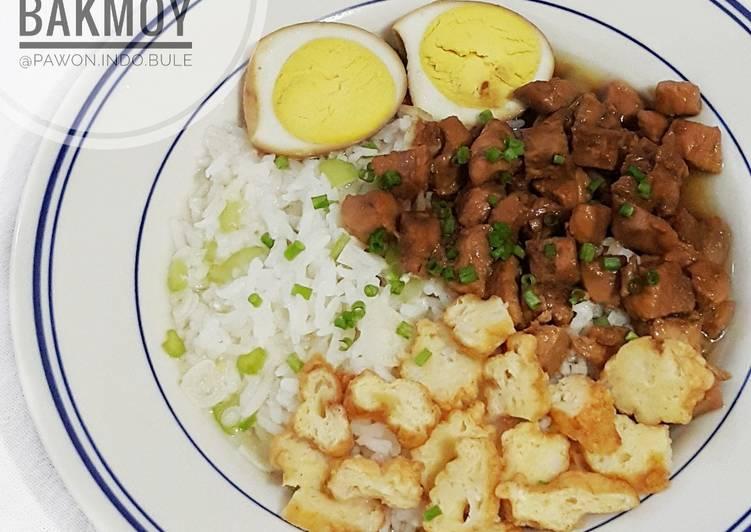 Resep: Nasi Bakmoy yang bikin ketagihan