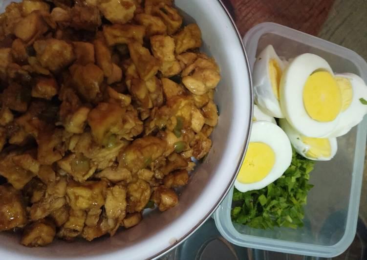 Resep memasak Bakmoy ayam yang bikin ketagihan