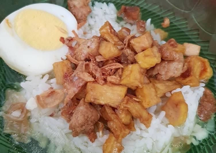 Resep: Bakmoy Tahu Ayam Telor ala resto
