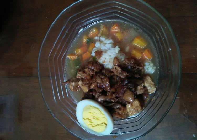 Resep: Nasi bakmoy ayam udang tahu yang bikin ketagihan
