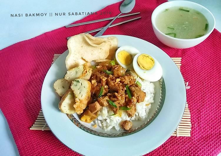 Resep: Nasi Bakmoy #pr_BukanNasiBiasa yang menggugah selera