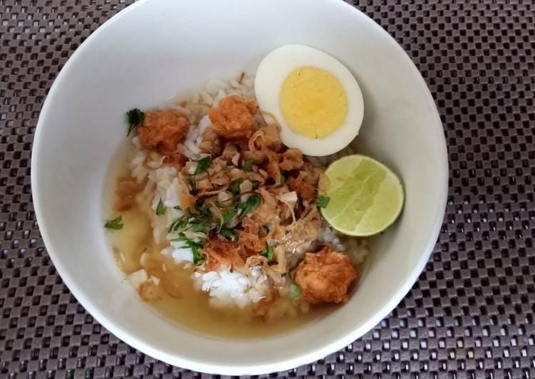 Cara Mudah membuat Nasi Bakmoy yang bikin ketagihan