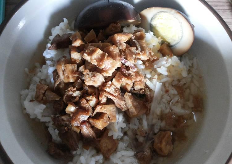 Resep: Nasi bakmoy rumahan enak