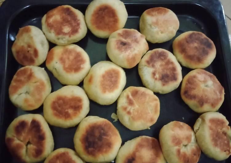 Resep: Bakpia kacang ijo teflon