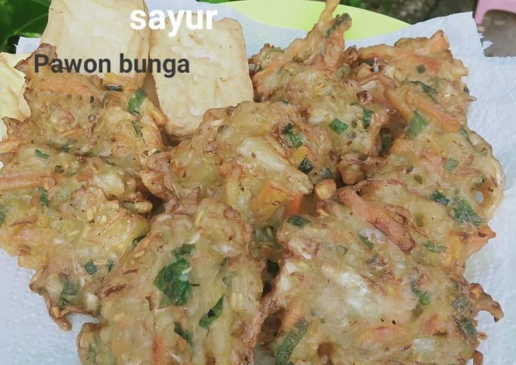 Cara mengolah Pia pia a.k bakwan sayuran lezat