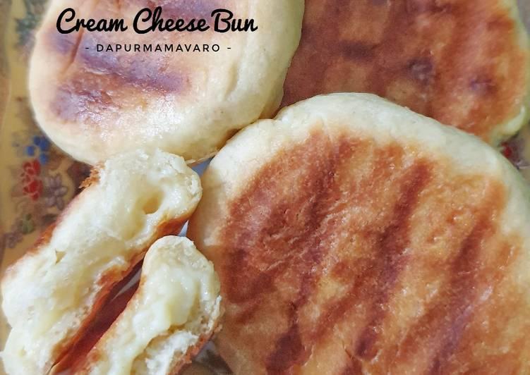 Cara mengolah Cream cheese Bun / Bakpia basah teflon