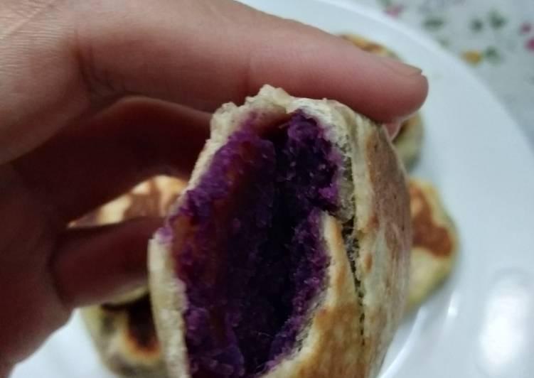 Resep: Bakpia tela ungu yang bikin ketagihan