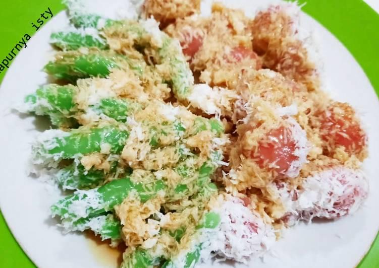 Resep mengolah Kue Cenil jajanan khas jawa ala resto