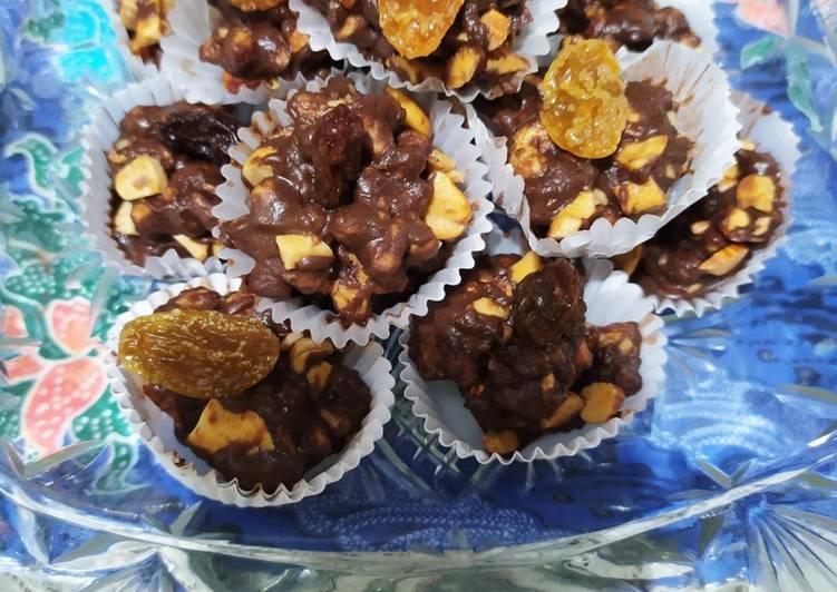 Resep: Enting2 sereal almond mete yang bikin ketagihan