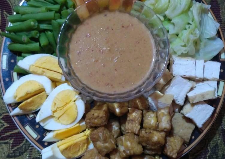 Cara memasak Gado gado sedap