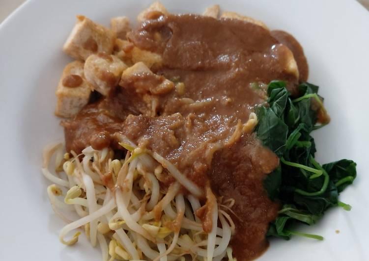 Resep: Bumbu gado gado / sate ayam homemade istimewa