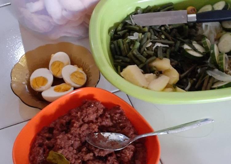 Resep memasak Gado gado ala ala yang menggugah selera