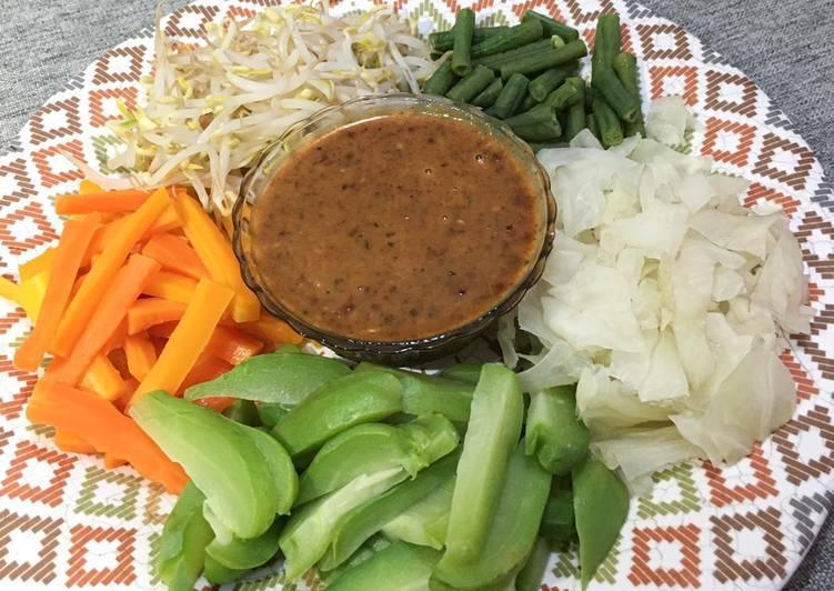 Resep: Gado-Gado Sayuran Sehat & Simple enak