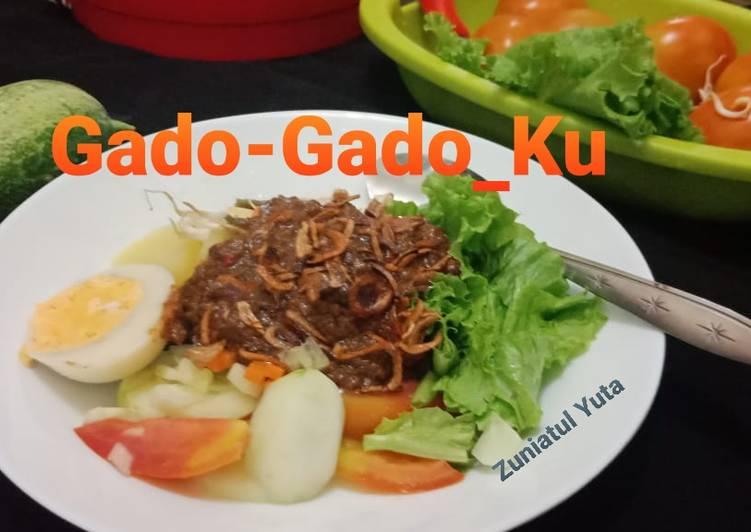 Cara memasak Gado-Gado_Ku yang menggugah selera