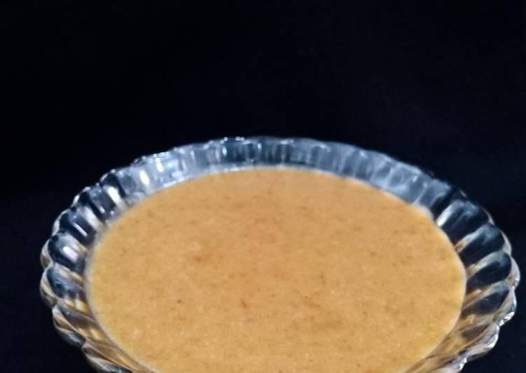Resep: Saos Kacang Bumbu Gado-gado