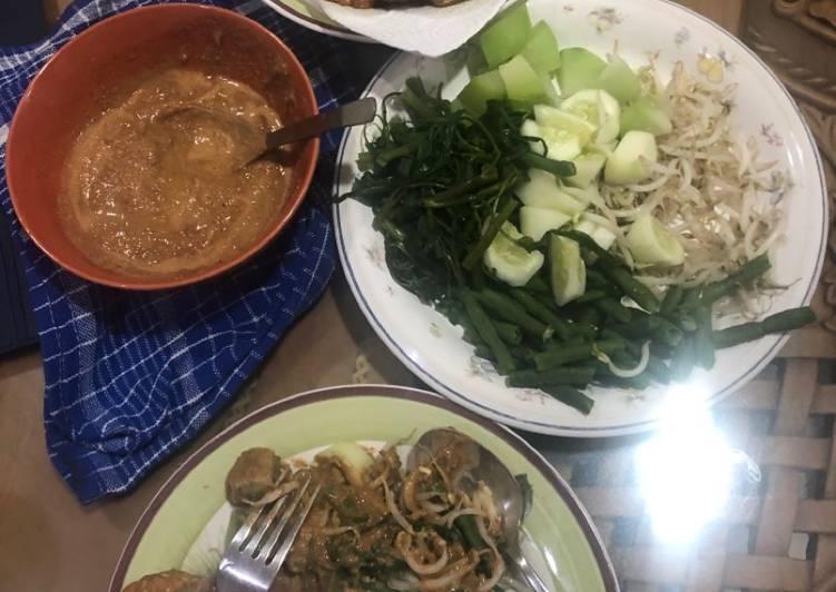 Cara Mudah memasak Gado-gado sederhana istimewa