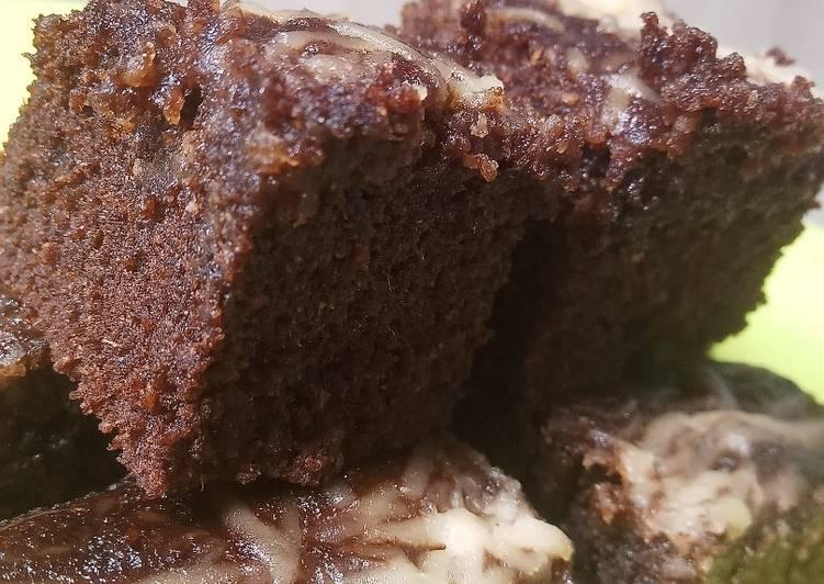 Resep: Brownis keju kukus dari tepung singkong/gaplek yang menggugah selera