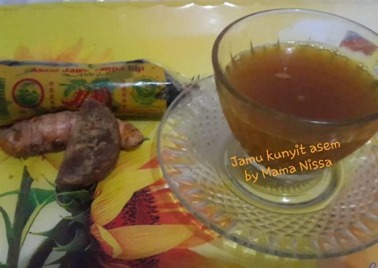 Resep memasak Jamu Kunyit asem lezat