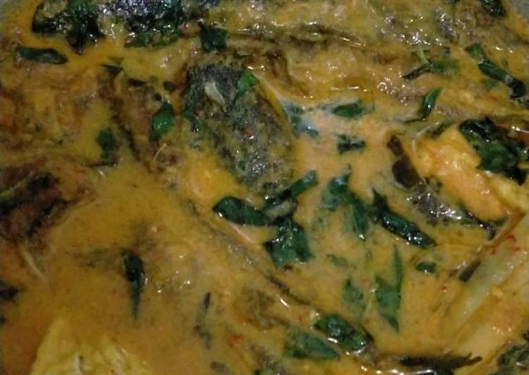 Resep memasak Mangut lele kemangi yang menggugah selera
