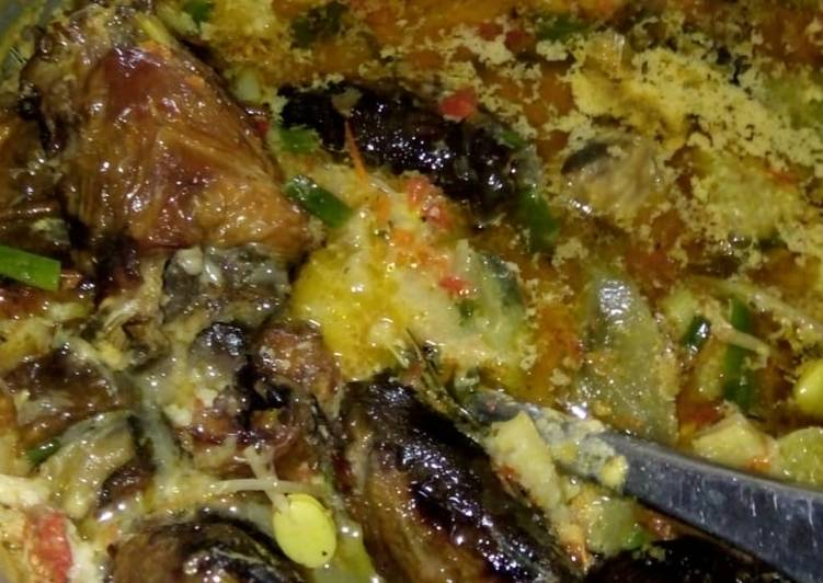 Cara memasak Mangut lele yang menggugah selera