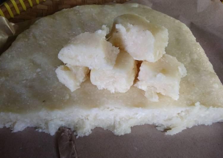 Cara Mudah memasak Gethuk singkong muda mendut banget sedap