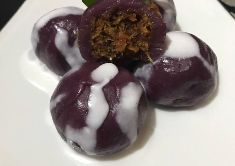 Resep: Mendut ubi ungu yang bikin ketagihan