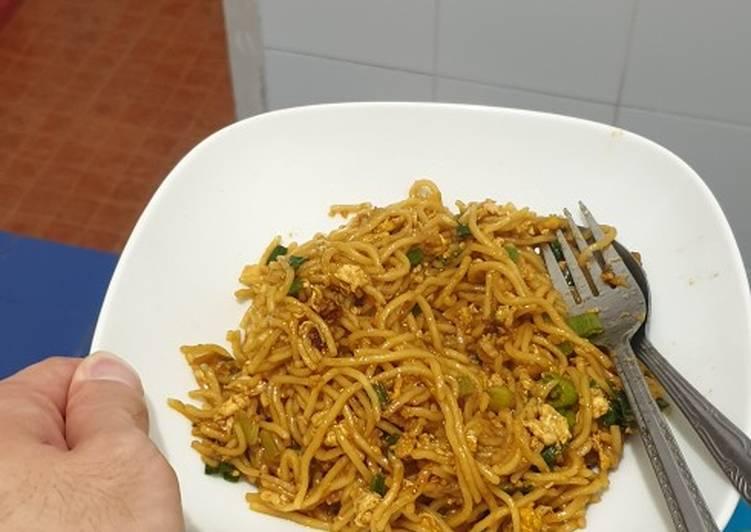 Resep: Mie Tek Tek (chinese food style) sedap