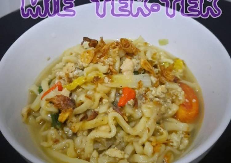 Cara memasak MIE TEK-TEK ala resto