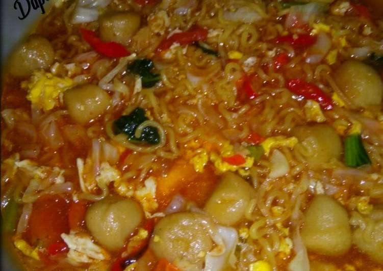 Resep: Indomie Goreng Nyemek / Mie Tek Tek ala resto