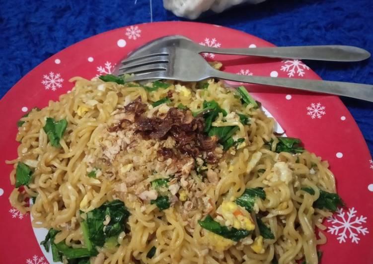 Resep membuat Mie tektek goreng simpel lezat
