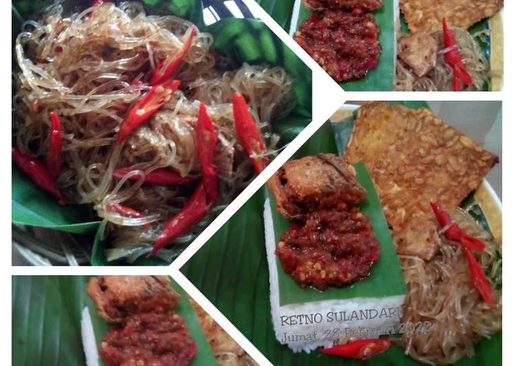 Resep memasak Oseng soun (ala) nasi kucing ala resto