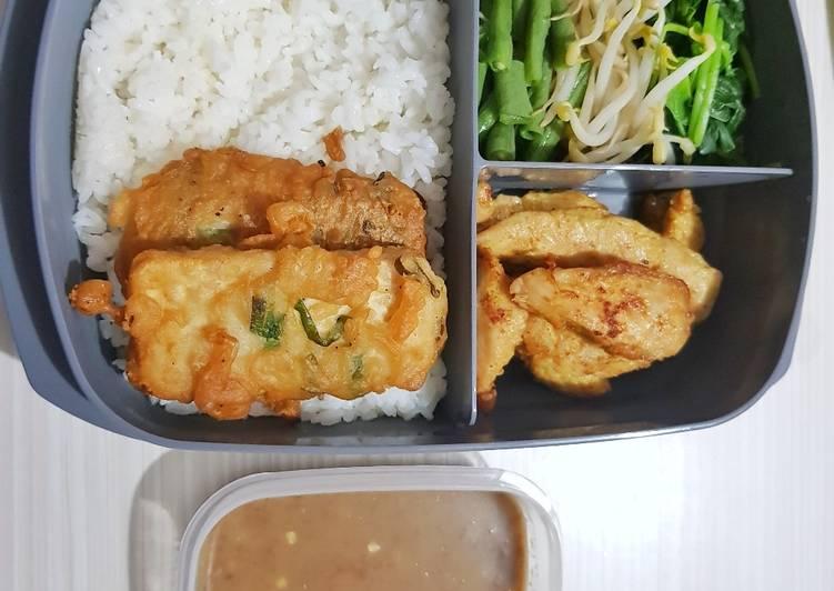 Resep membuat Nasi pecel istimewa