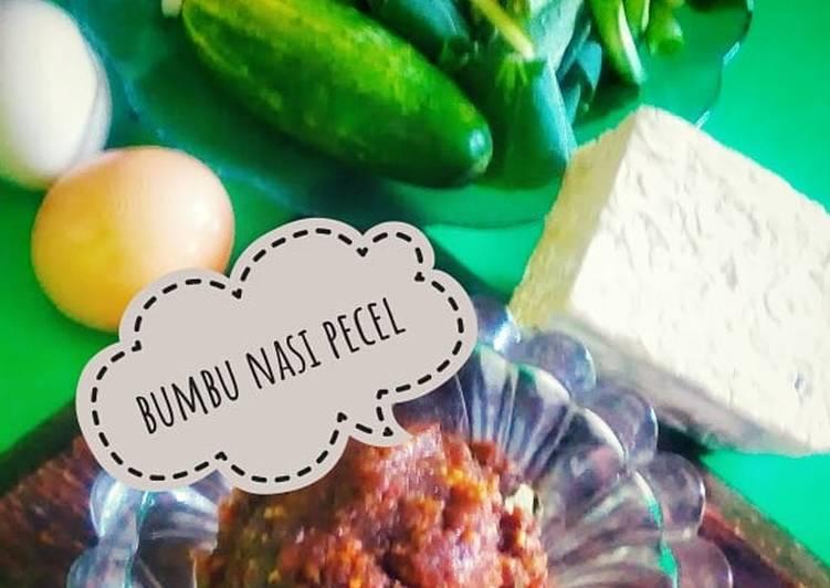 Resep: Bumbu nasi pecel homemade(versi minimalis)#diulekAsik sedap