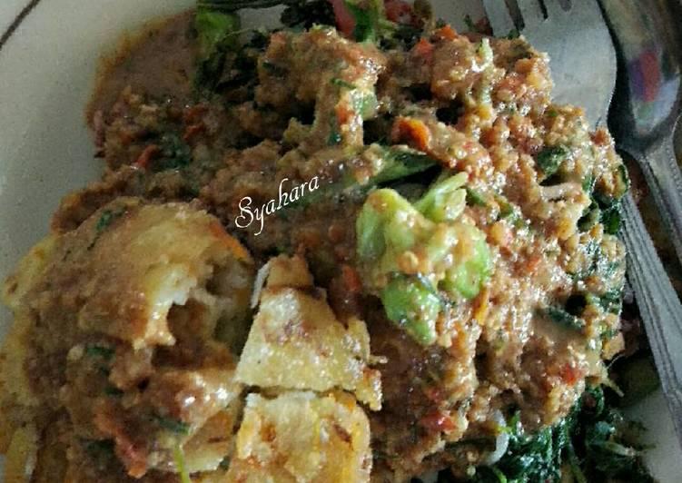 Resep: Nasi Pecel pr_homemadestreetfood ala resto