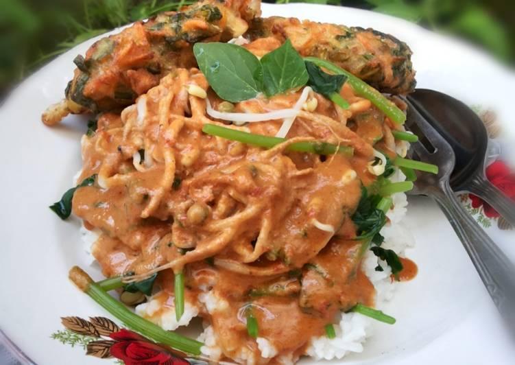 Resep membuat Nasi Pecel ala resto