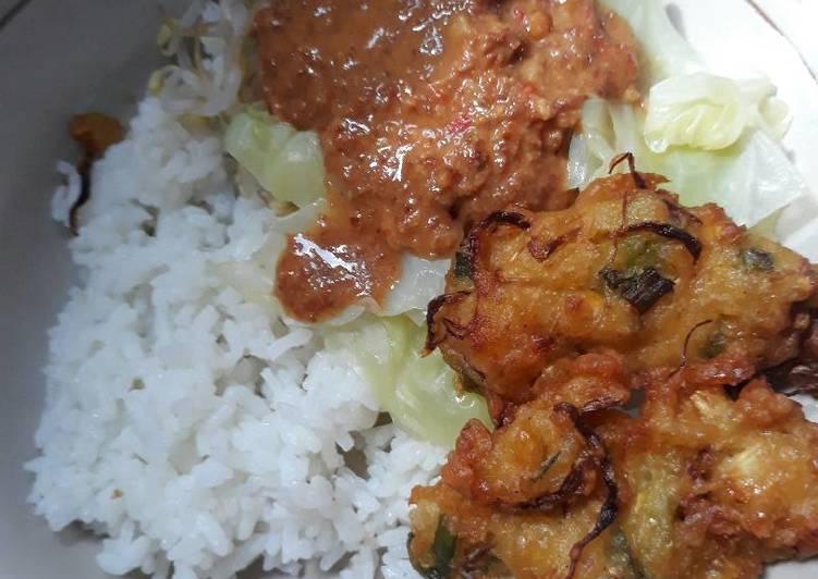 Resep: Nasi pecel sederhana ala resto