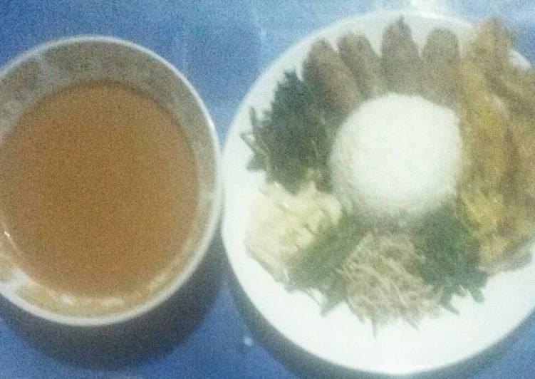 Cara Mudah mengolah Nasi pecel original/jadul khas Kediri enak